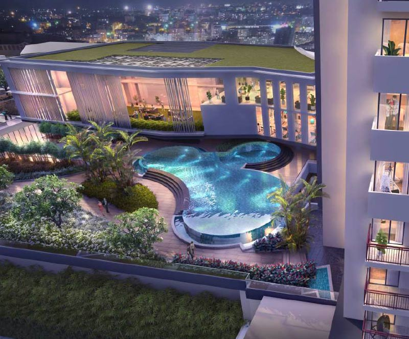 M3M Duo High 2 bed residences