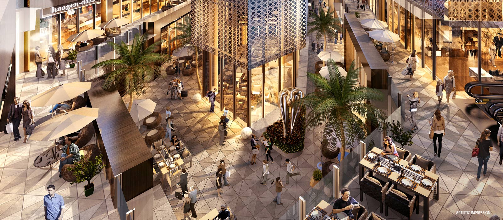 M3M IFC - Buy Triple Height Shops On Golf Course Extension Road Gurgaon
