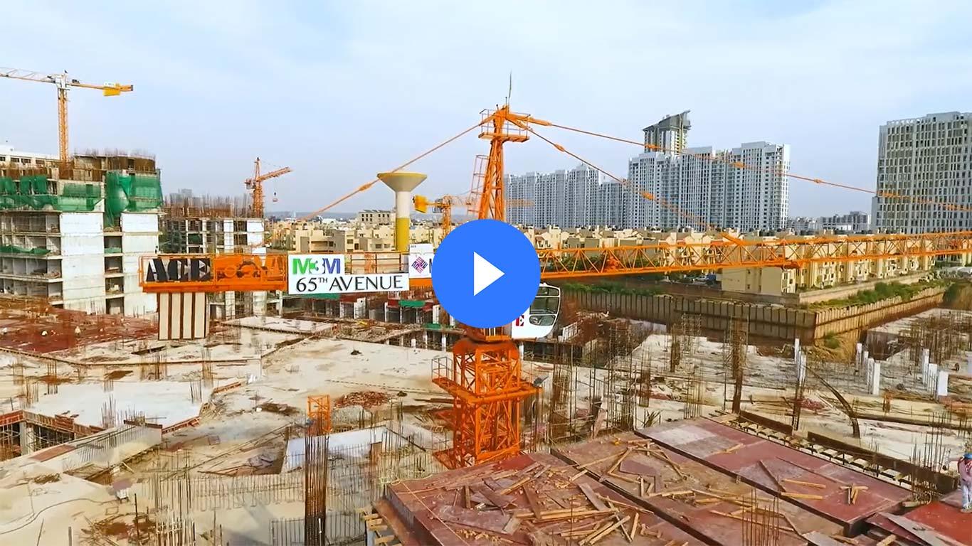 M3m 65th avenue construction update