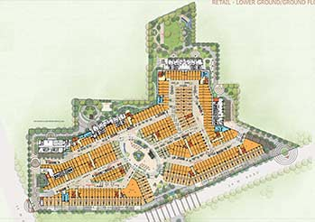 M3M 65th Avenue Ground Floor Plan