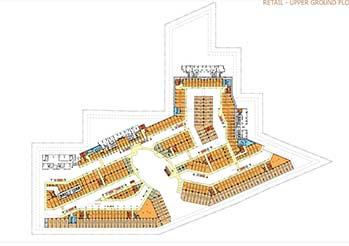 M3M 65th Avenue Upper Ground Floor Plan